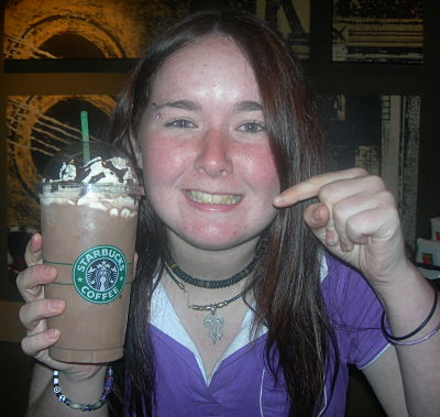 Kate at Starbucks!