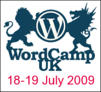 WordCamp UK 2009 Logo